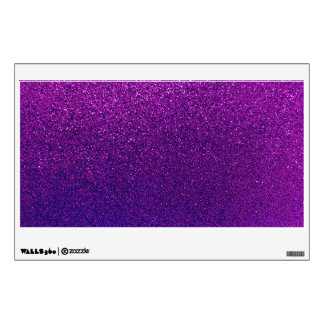 Faux Purple Violet Glitter Background Sparkle Wall Decal