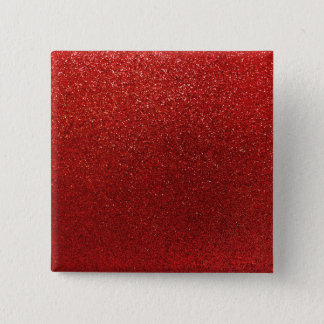 Faux Red Burgundy Glitter Background Sparkle Pinback Button