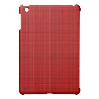 Faux Red Fabric iPad Mini Cases