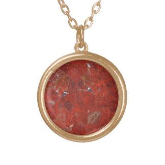 Faux Red Jasper Necklace
