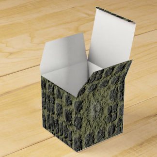Faux Reptile Skin Favor Box