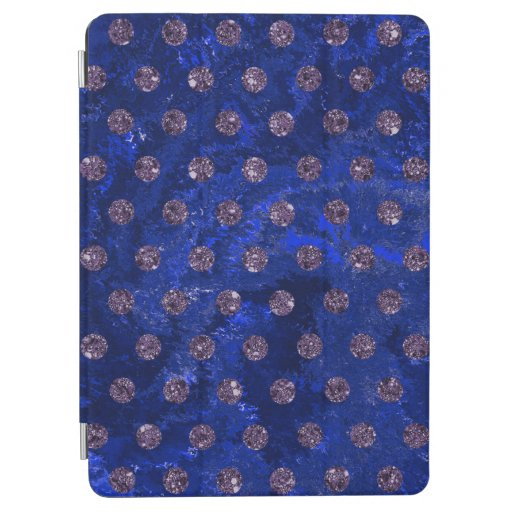 faux rhinestones blue Case-Mate iPhone iPad Air Cover