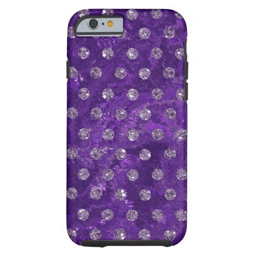faux rhinestones dark purple Case-Mate iPhone