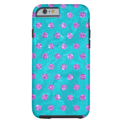 faux rhinestones pink turquoise Case-Mate iPhone