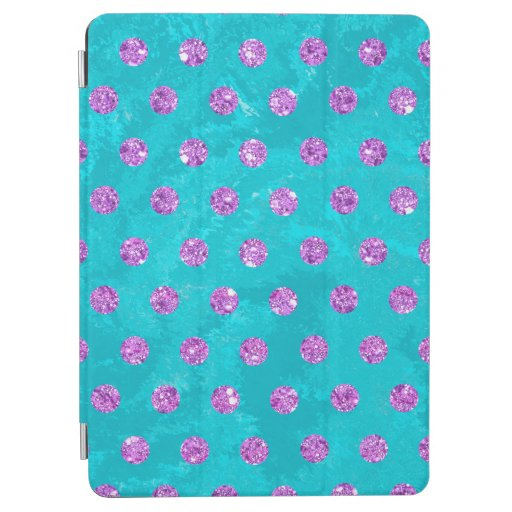 faux rhinestones pink turquoise Case-Mate iPhone iPad Air Cover
