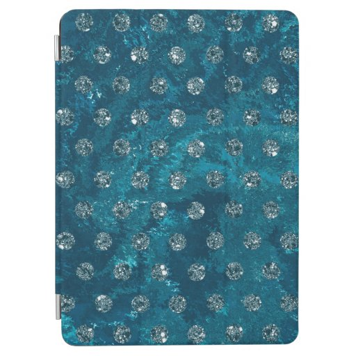 faux rhinestones turquoise Case-Mate iPhone iPad Air Cover