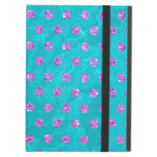 faux rhinestones turquoise pink Case-Mate iPhone Case For iPad Air