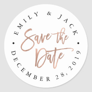save the date stickers zazzle