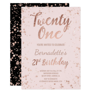 21 Birthday Invitation orderecigsjuiceinfo