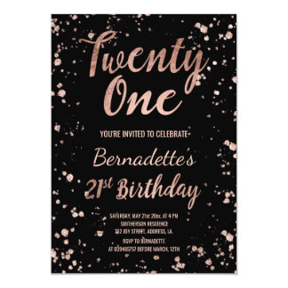 St Birthday Invitations Announcements Zazzle - 21st birthday invitation card background