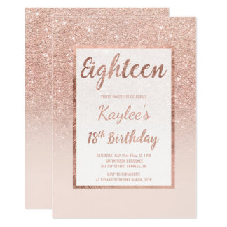 18th Birthday Invitations, 2000+ 18th Birthday Announcements & Invites
