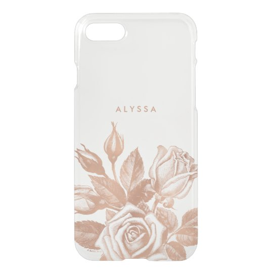 7 iphone case rose gold