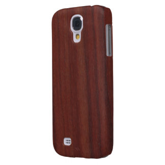 Faux Rosewood Samsung Galaxy S4 Cases