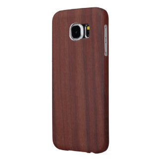 Faux Rosewood Samsung Galaxy S6 Case