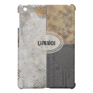 Faux Rough Industrial Grunge Mens Masculine Indie iPad Mini Case