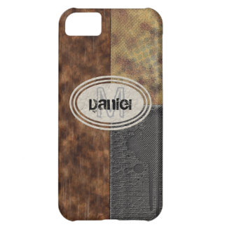 Faux Rough Industrial Grunge Mens Masculine Indy Cover For iPhone 5C