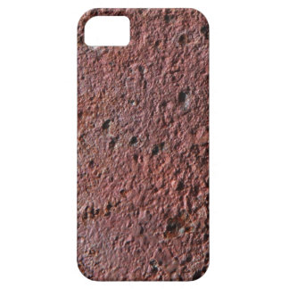 Faux rust texture (brown flaky rusted iron) pitted iPhone 5 cases