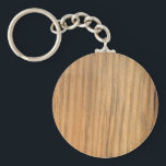 "Faux Rustic Finished Barn Wood Keychain<br><div class=""desc"">The unique Faux Rustic Finished Barn Wood Keychain is perfect for a barn lover, wood worker or carpenter. This custom wooden look key chain features a close up photograph of finished barn wood from a rural Midwestern farm. Feel free to customize it with your own text to create a personalized...</div>"