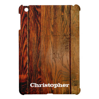 Faux Rustic Wood Plank iPad Mini Cases