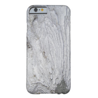 Faux Sandy Driftwood Barely There iPhone 6 Case