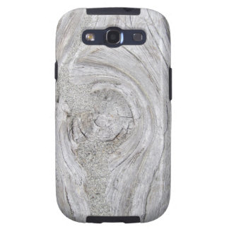 Faux Sandy Driftwood Galaxy S3 Cases