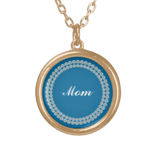Faux Show Mom Necklace