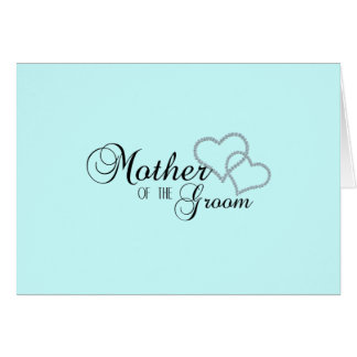 Faux Show Mother of the Groom Card