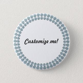 Faux Show Wedding Pinback Button