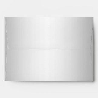 faux Silver Envelope 5 x 7