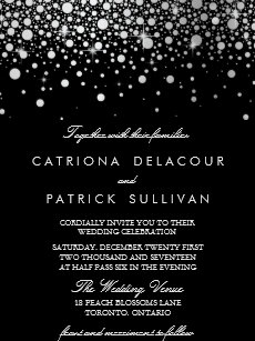 black and white wedding invitations zazzle