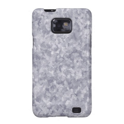Faux Silver Galvanized Steel Metal Samsung Galaxy S2 Cover