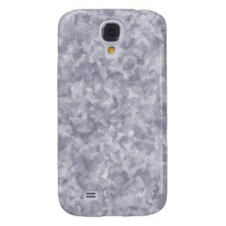 Faux Silver Galvanized Steel Metal Galaxy S4 Case