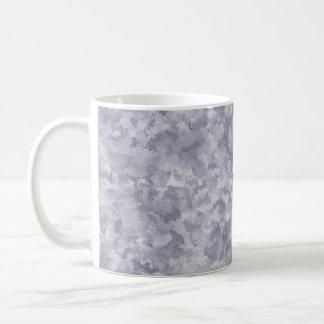 Faux Silver Galvanized Steel Metal Coffee Mug