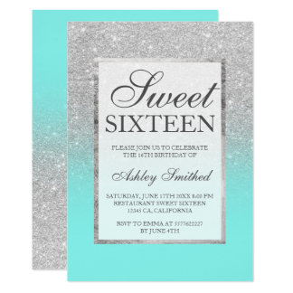 Elegant Sweet 16 Invitations Announcements Zazzle