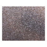 Faux Silver glitter graphic Poster