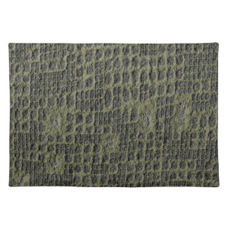 Faux Snake Skin Cloth Placemat