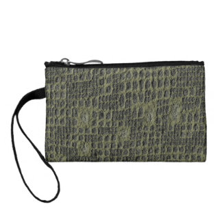 Faux Snake Skin Coin Purse