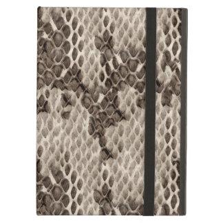 Faux Snakeskin Print Case For iPad Air