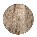 Faux Soft Old Wood Dart Boards