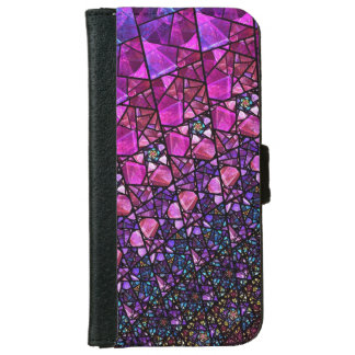 Faux Stained Glass Wallet Case