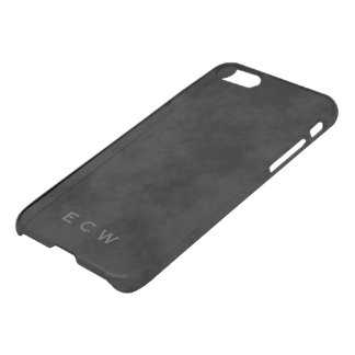 Faux Stamped Mottled Black iPhone 7 iPhone 8/7 Case