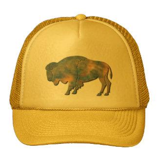 Faux Stone Bison Trucker Hat