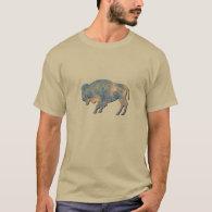 Faux Stone Bison T-Shirt