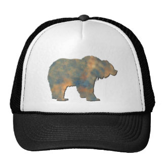 Faux Stone Grizzly Hats