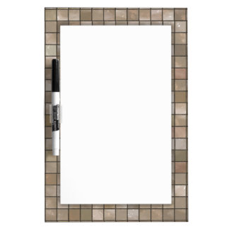 Faux Tan Floor Tile Image Dry Erase Whiteboards