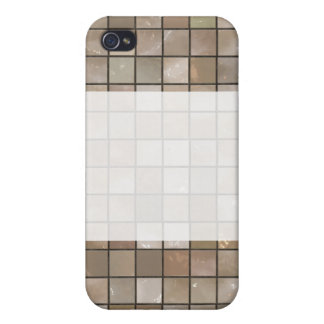 Faux Tan Floor Tile Image iPhone 4/4S Cover