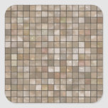 Faux Tan Floor Tile Image Stickers
