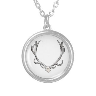 Faux Taxidermy Antler Study VOL 1 Custom Necklace