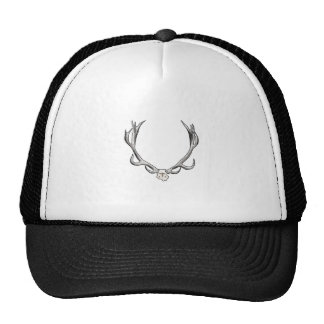 Faux Taxidermy Antler Study VOL 1 Trucker Hat