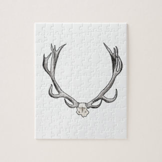 Faux Taxidermy Antler Study VOL 1 Puzzle